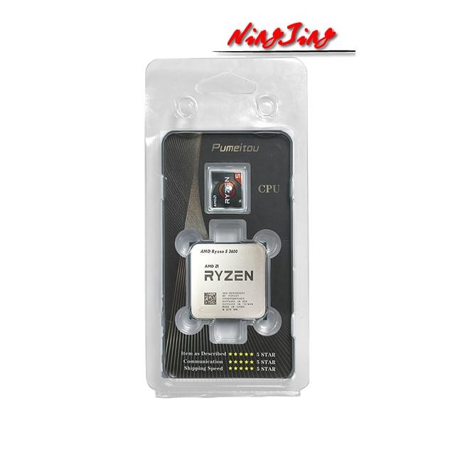 AMD Ryzen 5 3600 R5 3600 3.6 GHz Six-Core Twelve-Thread CPU Processor 7NM 65W L3=32M  100-000000031 Socket AM4 new but no fan 4