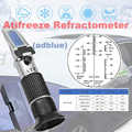 Antifreeze Refractometer rha coolant tester 5in1 Glycol and adblue 30-35% for Antifreeze tester battery car Refractometer