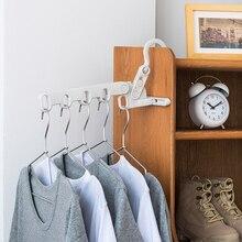 Hanger Travel for Bathroom Balcony Hotel Wardrobe-Hooks Dryer Rack Rail-Rod Coat Wall-Mounted