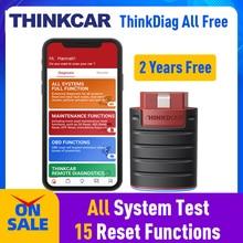 OBD2สแกนเนอร์บลูทูธ THINKCAR Thinkdiag 2ปีฟรีทั้งหมดโปรแกรม OBDII เครื่องสแกนเนอร์รถยนต์ OBD2เครื่องมือ PK EasyDiag