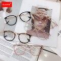 1PCs Katze Augen Gläser Rahmen Frauen Anti Blau Licht Computer Brillen Männer Vintage Klar Optische Brillen Unisex Schwarz Rosa rahmen