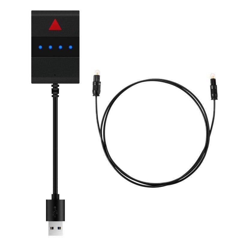 Transmissor portátil de bluetooth 3.5mm porto óptico digital tv computador adaptador áudio usb power supplyhw