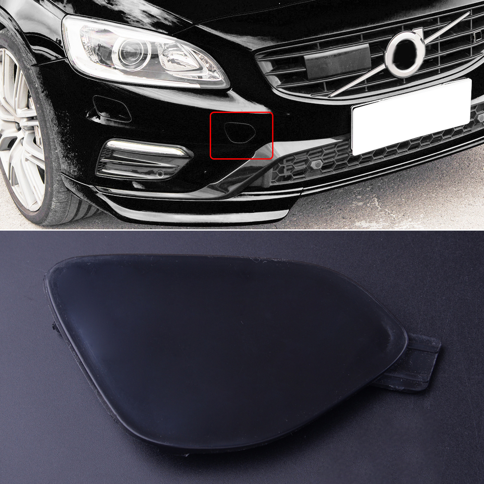 PAINTED ANY VOLVO COLOUR VOLVO V70 GENUINE NEW BUMPER TOW EYE  COVER