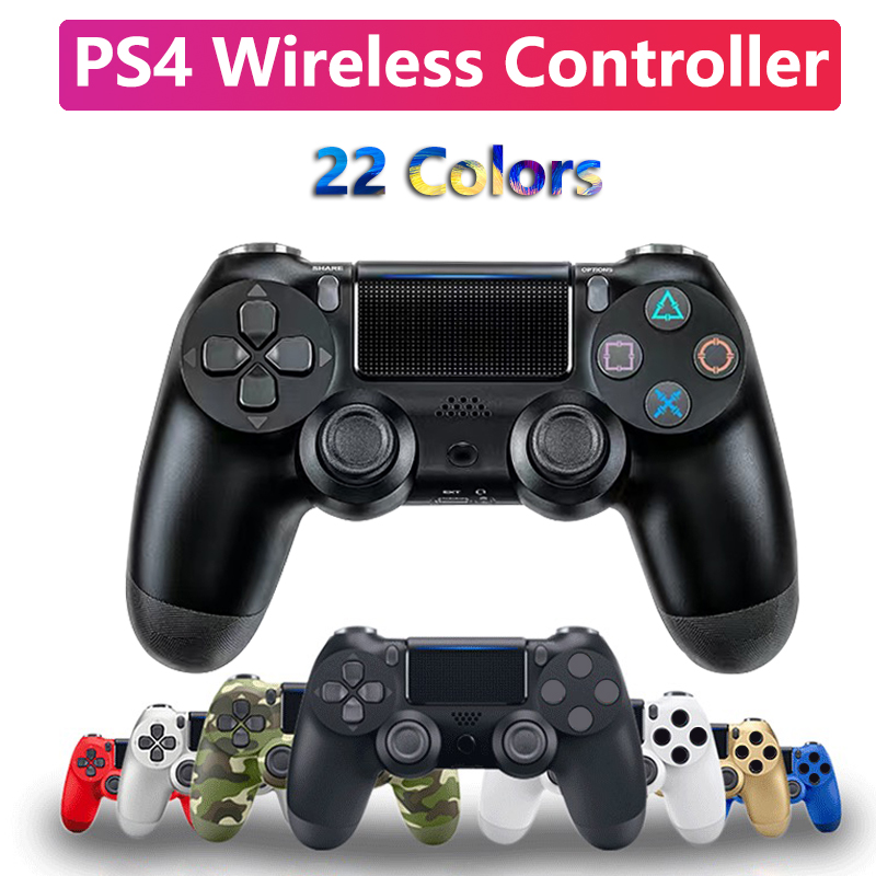 Support Bluetooth Wireless Joystick for PS4 Controller Fit For mando for ps4 Console For Playstation 4 Gamepad For PS3
