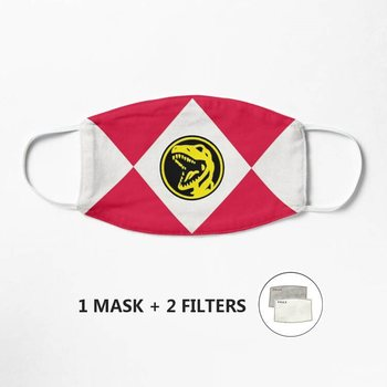 Tyrannosaurus Dinozord Mask Adult Floral Print Adjustable Safe Protect Washable Cotton Mask Anti Fog Mouth Cover image