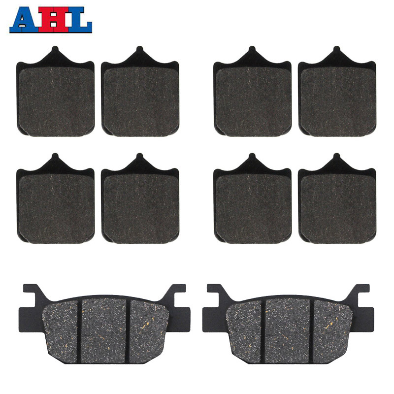 Motorcycle front and rear brake pads for Benelli TRK502 TRK502X TRK 502 Leoncino 500 BJ500 <font><b>BJ500GS</b></font>-<font><b>A</b></font> BJ 500 image