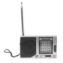 KK-9803 FM/MW/SW1-8 Full 10 Band Hi-Sensitivity Radio Receiver With Folding Kickstand