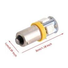 Ampoule de voiture T11 BA9S 5050 5 smd, lampe de voiture 12V T4W 3886X H6W 363, lumière jaune taupe, 1 pièce