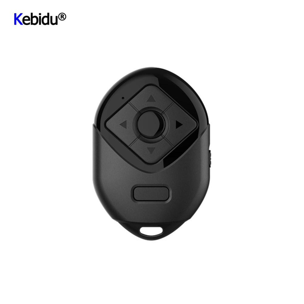 Kebidu миниатюрный беспроводной Bluetooth пульт дистанционного управления затвором Кнопка автоспуска затвора селфи-палка для камеры для P