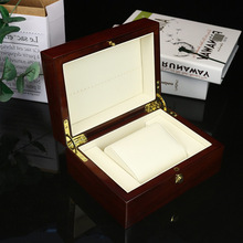 Wooden Single Watch Box Luxury Watch Display Case Jewelry Organizer Storage Box for Rings Bracelet Watches Display Best Gift