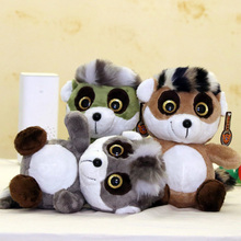 big eyes Raccoon Plush Toy Lovely Cute Soft Stuffed Animals Pillow Sweetie animals toys For Children Birthday Gifts