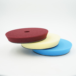 Image 4 - 6 Inch 150mm Hardened Sponge Polishing Disc Polisher Replaceable Sponge Buffing Pad Soft Polishing Foam Pads New