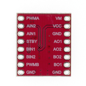 Image 2 - TB6612 Dual Motor Driver 1A TB6612FNG  Microcontroller Better than L298N for Arduino