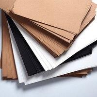 Weiß Schwarz Papier Karton Handwerk DIY Kraft Karte  Der 230g Handwerk Papier Verdicken Pappe karton für Druck Malerei