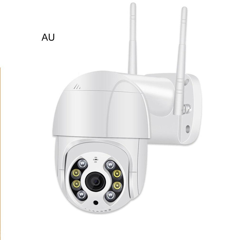 1080P FHD Cámara cámara Ip Wifi Webcam Mini cámara De Seguridad Cctv al aire libre impermeable De Audio De dos vías De la visión nocturna IR Camara De Seguridad Camaras de seguridad simuladas de vigilancia con Flash LED parpadeantes con domo falso para el hogar CCTV