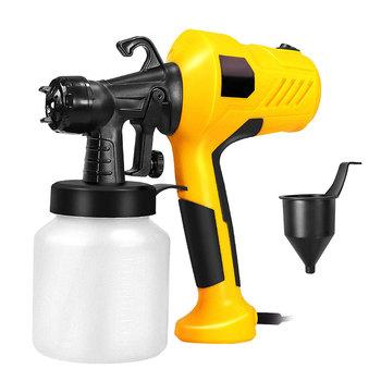 Elektryczny pistolet natryskowy trwały praktyczny klasyczny rozpylacz farby s bezpowietrzny rozpylacz do farby rozpylacz farby elektryczny pistolet do piaskowania odpinany tanie i dobre opinie ANENG NONE CN (pochodzenie) ELECTRIC PAINT SPRAYER Powerful Motor Electric Spray Gun Handheld Spray Guns Paint Sprayers