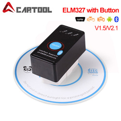 ELM327 Bluetooth V2.1/V1.5 with Power Switch ODB2 ODBII OBD II ELM 327 Bluetooth Tester Auto Diagnostic Scan Tool Torque Android
