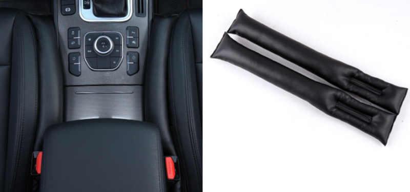 Alta calidad 2 uds asiento Interior del coche almohadilla de relleno de espacio funda para Lada Priora Sedan sport calina Granta Vesta x-ray