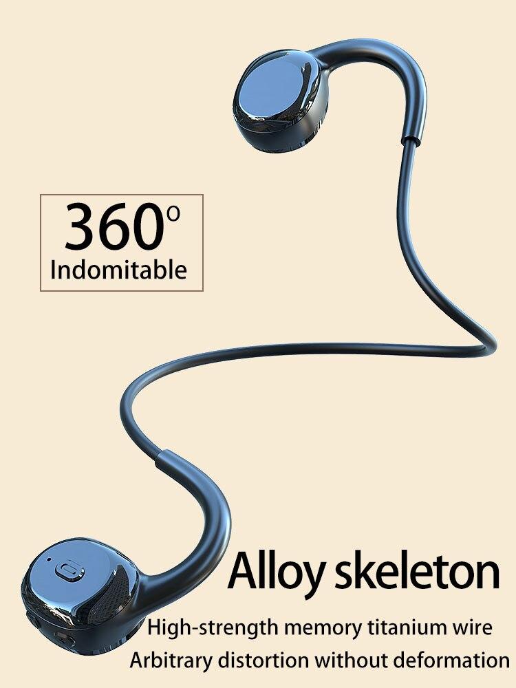bluetooth 5.0 running headset mais resistência hd