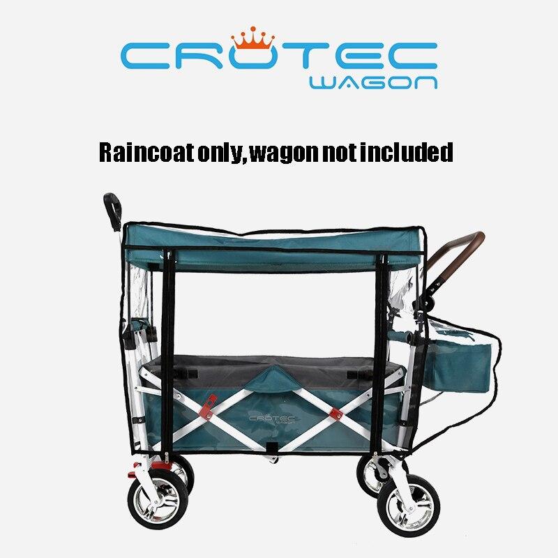 Crotec vagon CROTEC VAGON yağmur şelteri çocuk arabası twins oturabilir bir bebek yağmur kılıfı dahil değildir arabası  su geçirmez