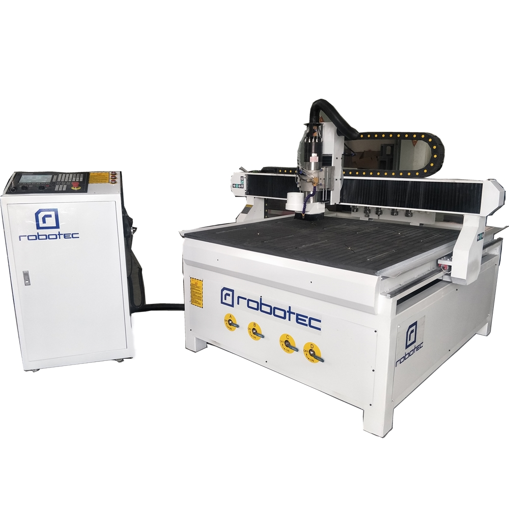 China Price 1212 Aluminum Cnc Milling Machine For Sale/4*4 Feet ATC Cnc Router With Auto Tool Changer For Advertisement Industry