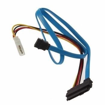 1pcs  arrival Serial ATA to SAS 7 Pin SATA 29 & 4 Cable Male Connector Adapter 2425#