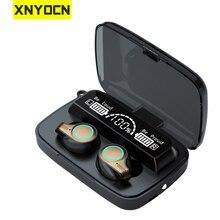 Xnyocn Tws Bluetooth 5.1 Koptelefoon 5000Mah Opladen Doos Draadloze Hoofdtelefoon 9D Stereo Sport Waterdichte Oordopjes Headsets Met Microfoon