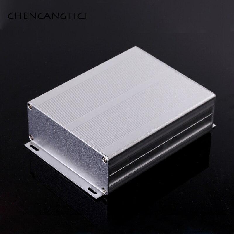 1 Set Aluminum junction Box PCB Instrument Enclosure Electronic DIY Project Case Split Type 97*40*90/100/120/150