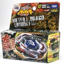 TAKARA TOMY – jouet BEYBLADE 100% ORIGINAL, FUSION métal, Meteo L Drago LW105LF + lanceur L comme jouets de la journée des enfants