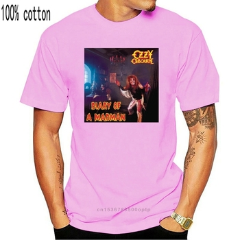 Ozzy Osbourne Diary of a Madman T-shirt poster black poster all sizes S...5XL image