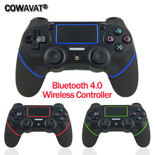 Gamepads for Dualshock 4 /Bluetooth 4.0 Controller Wireless / Wired Gamepad Joystick for PS4 Controller for Playstation 4 for PC(China)