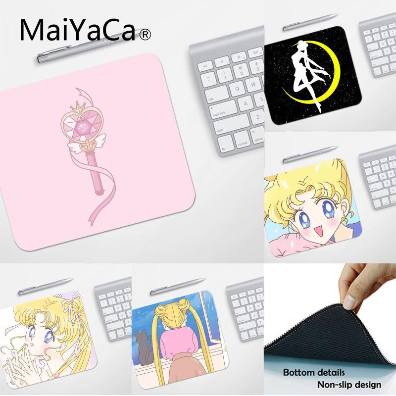 MaiYaCa Top Quality Cartoon Sailor Moon Computer Gaming Mousemats Top Selling Wholesale Gaming Pad Mouse