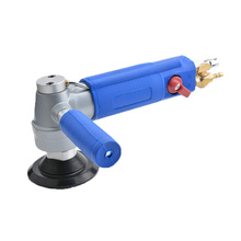 Pneumatic Tool 3 Inch 4 Inch Water Injection Pneumatic Water Mill Professional Pneumatic Water Sander Air Wet Polishing Machine