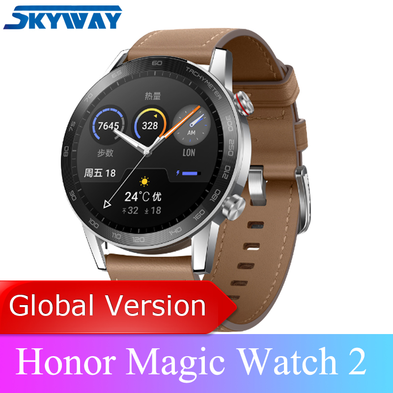 Honor Magic Watch 2 Smart watch Bluetooth 5.1 magicwatch 2 Smartwatch Phone Call Heart Rate For Android iOSSmart Watches   -