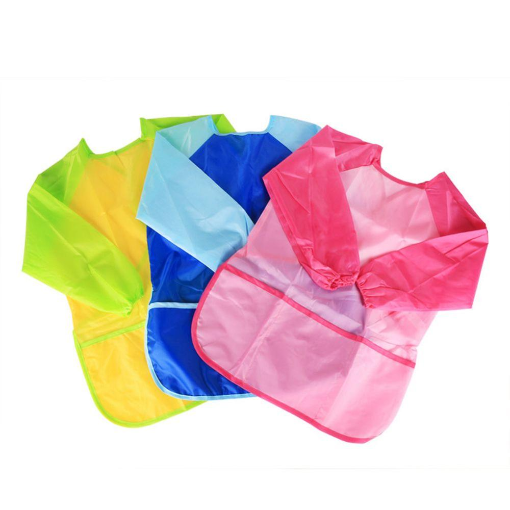 Children Cute Bandana Dining Bibs Kids Saliva Towel Baby Waterproof Painting Clothes
