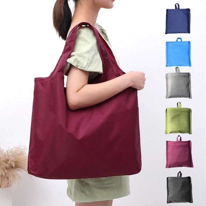 Водонепроницаемый удобный складной сумки многоразового использования для Покупок Сумка-тоут сумки корзины покупателя для хранения сумки ...
