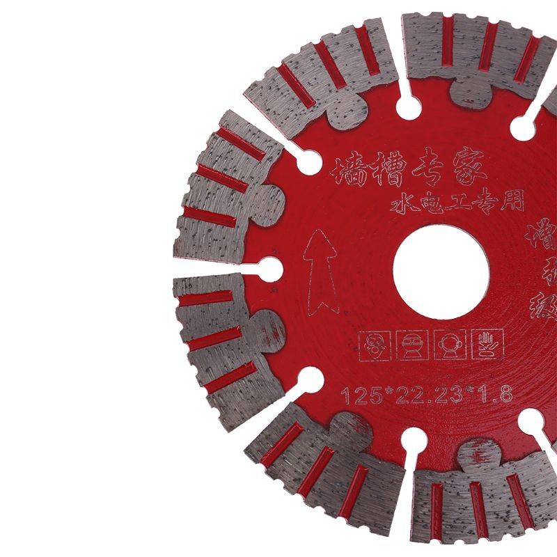 125mm Saw Blade Dry Cut Disc Super Thin For Marble Concrete Porcelain Tile Granite Quartz Stone Fit For Cutters Cutting Machines