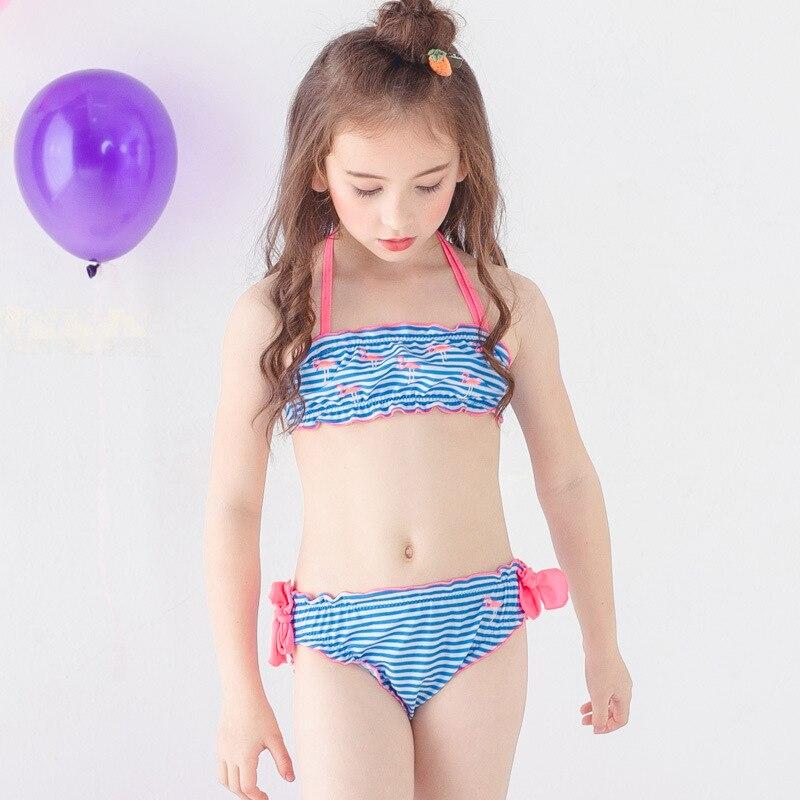 PA Yasen New Style Bathing Suit-Style Children Cute Cartoon Bikini Two-Piece Bathing Suit 1856