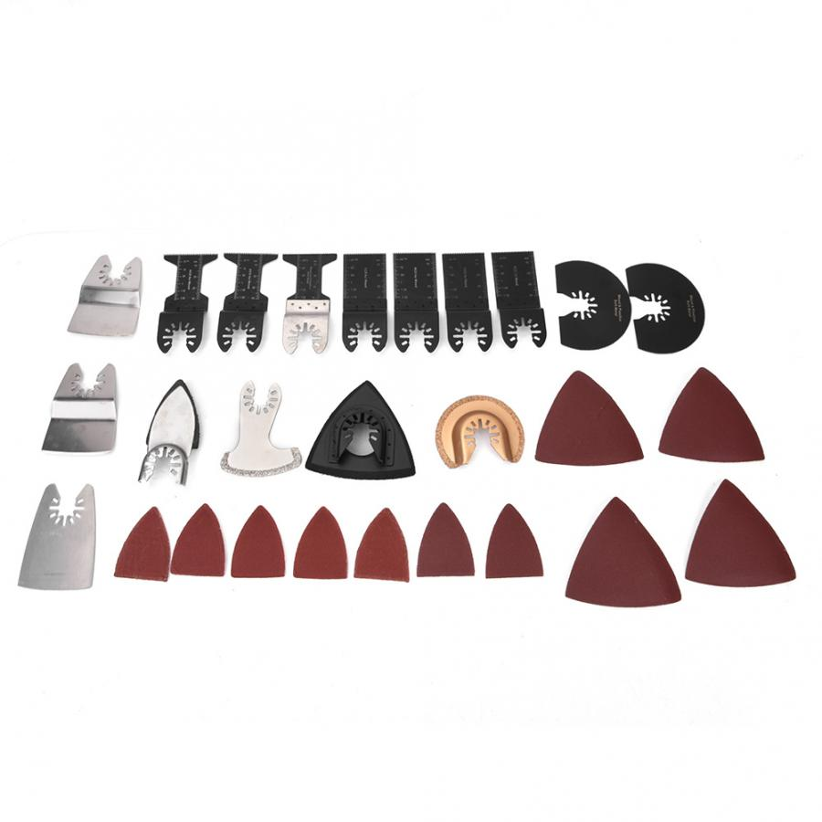 Band  70pcs Oscillating Saw Blades Kit Multi Tool Accessories For Wood Plastic Cutting Oscillating Tool