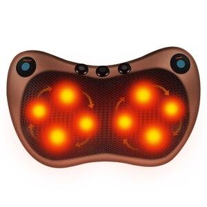 Image 1 - 電気マッサージ枕バイブレーター緩和肩ネックバックボディ加熱指圧混練赤外線療法ネックマッサージ