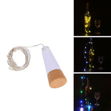 1.5M Flashing USB LED Beer Wine Bottle Light String Lamp Decoration Ornament(China)