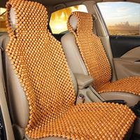 Summer Cool Wooden Beads Seat Cover Massage Car Seat Cushion 45 X 130CM Chair Cover Car Auto Office Seat Cushion