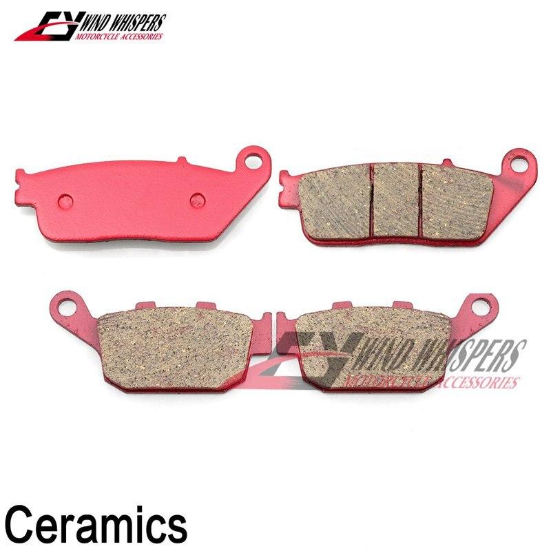 Rear Brake Pads For Honda CBR 600 RR F2 F3 F4 i SJR SE