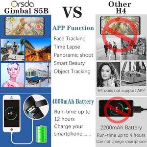 Image 2 - Orsda 3 Assi Handheld Stabilizzatore Gimbal Smartphone Del Telefono Zoom Manuale Viso di Monitoraggio Per iPhone11 Pro Plus S9 S8 Gopro Macchina Fotografica