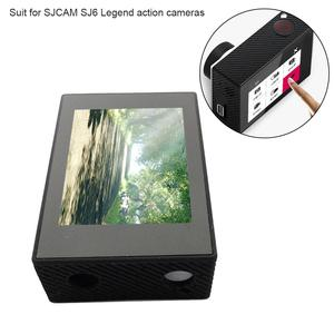 Image 4 - 2.0 Inch LCD Display Screen Replacement with Bracket Case Accessories for SJCAM SJ6 Legend Action Sports Camera