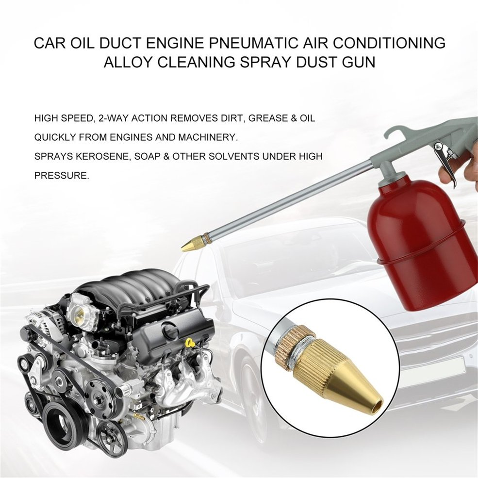 Portable Automobile Car Engine Cleaning Gun Solvent Air Sprayer Degreaser Car Engine Maintenance Care And Cleaning Equipment