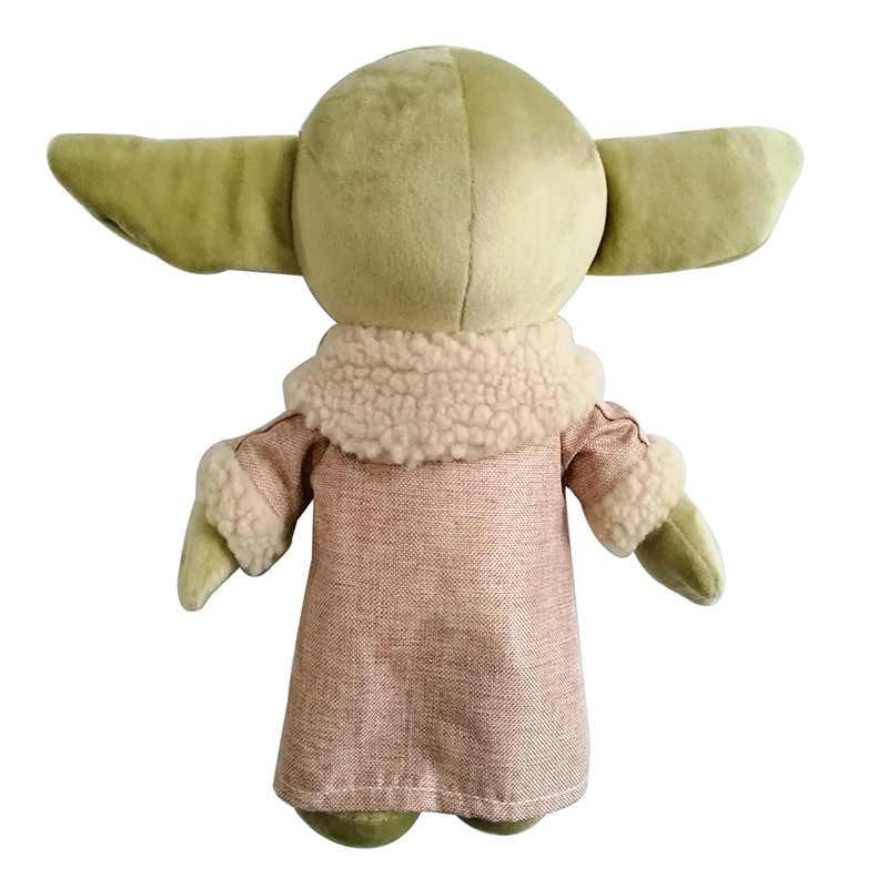 30cm gwiezdne wojny moc budzi się mistrz dziecko Yoda pluszowe zabawki miękkie zwierzęta wypchana lalka dzieci prezent dla dzieci w magazynie Dropshipping