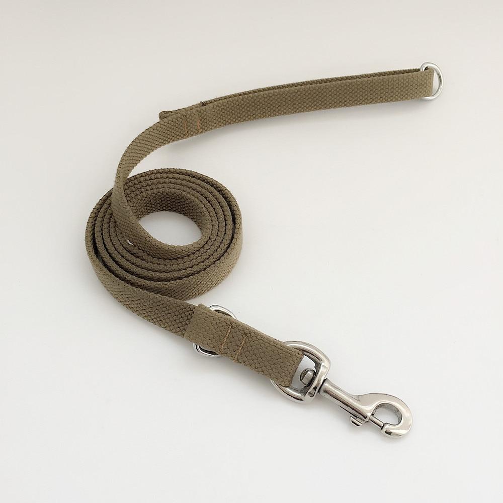 La Woven Belt Hand Holding Rope Medium-sized Dog Traction Belt Golden Retriever Labrador Husky Pet Dog Rope Chain