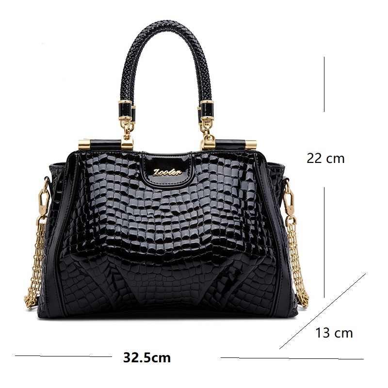 ZOOLER Marke frau handtaschen aus echtem leder tasche weibliche hobos schulter taschen Luxus hohe qualität leder totes frauen tasche QS220