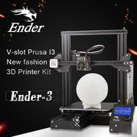 CREALITY 3D Ender 3 3D Printer Magnetic Build Plate Resume Power Failure Printing Mean Well Power Supply DIY Appliances Quiet